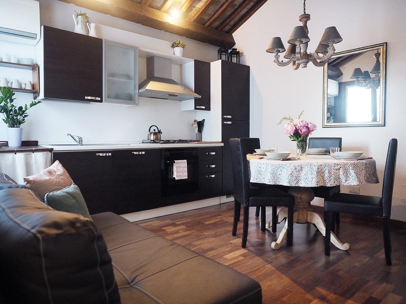 Cozy San Basilio With Garden View Livingroom1